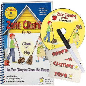 Zone Cleaning for Kids! Clean 'n' Flip + DVD