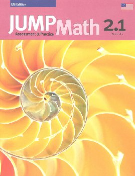 Jump Math Assessment & Practice Book 2.1 (US Edition)