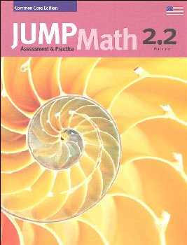 Jump Math Assessment & Practice Book 2.2 (US Edition)
