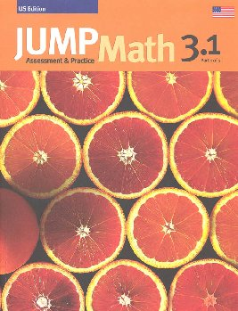 Jump Math Assessment & Practice Book 3.1 (US Edition)