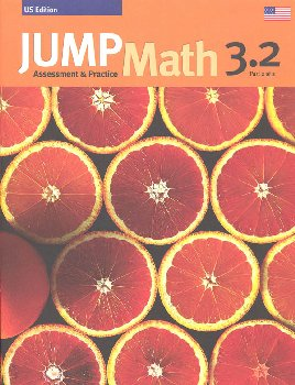 Jump Math Assessment & Practice Book 3.2 (US Edition)