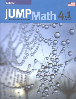 Jump Math Assessment & Practice Book 4.1 (US Edition)