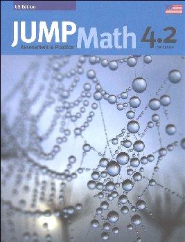Jump Math Assessment & Practice Book 4.2 (US Edition)