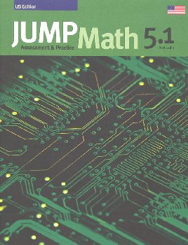 Jump Math Assessment & Practice Book 5.1 (US Edition)