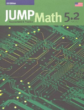 Jump Math Assessment & Practice Book 5.2 (US Edition)