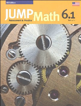 Jump Math Assessment & Practice Book 6.1 (US Edition)