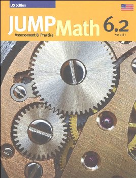 Jump Math Assessment & Practice Book 6.2 (US Edition)
