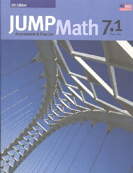 Jump Math Assessment & Practice Book 7.1 (US Edition)