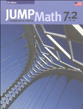 Jump Math Assessment & Practice Book 7.2 (US Edition)