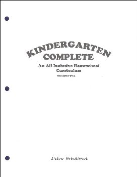 Kindergarten Complete: Semester Two - Student Workbook Refill Pages