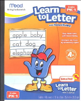 Learn to Letter with Raised Ruling