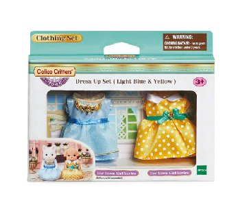 Dress-Up Set - Light Blue & Yellow (Calico Critters)