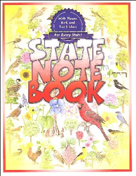 State Notebook with Stickers