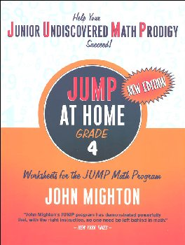 JUMP at Home Grade 4: Worksheets for the JUMP Math Program