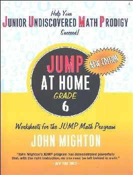JUMP at Home Grade 6: Worksheets for the JUMP Math Program