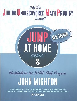 JUMP at Home Grade 8: Worksheets for the JUMP Math Program
