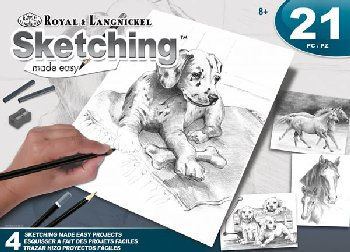 Sketching Made Easy Art Activity Set - Animals