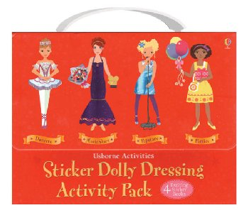 Sticker Dolly Dressing Activity Pack (Red)