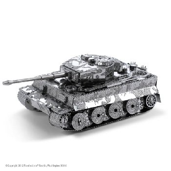 Tiger I Tank (Metal Earth 3D Laser Cut Models)