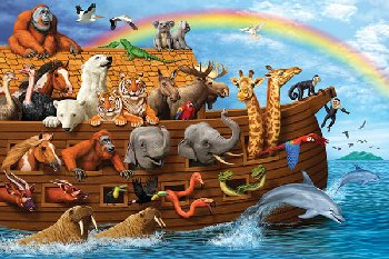 Noah's Ark Floor Puzzle (36 Pieces)
