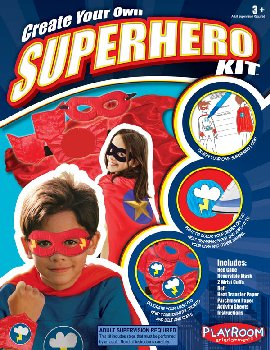 Create Your Own Superhero Kit - Red Cape