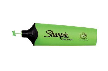Sharpie Clearview Highlighter with Smear Guard - Green
