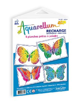 Aquarellum Junior Refill - Butterflies