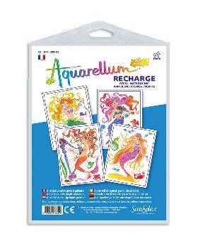 Aquarellum Junior Refill - Mermaids