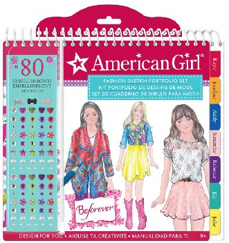 American Girl Beforever Sketch Portfolio