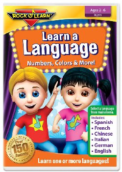 Learn a Language: Numbers, Colors & More! DVD