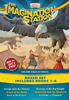 Imagination Station Books 1-6 Pack (Adventures In Odyssey)