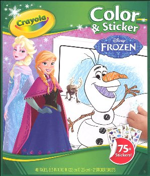 Disney Frozen Color & Sticker