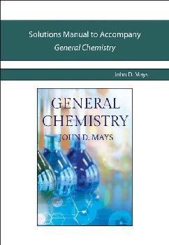 General Chemistry Solutions Manual (Novare)