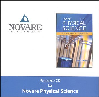 Novare Physical Science 3rd Edition Resource CD