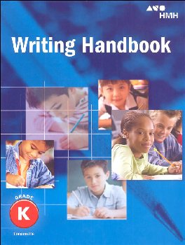 Journeys Common Core Writing Handbook Student Grade K