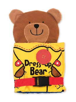 K's Kids Cloth Book - Dress-Up Bear