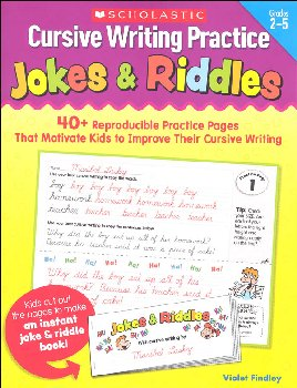 Cursive Writing Practice: Jokes & Riddles