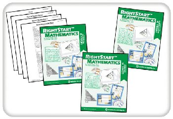RightStart Mathematics Level D Book Bundle 2nd Edition