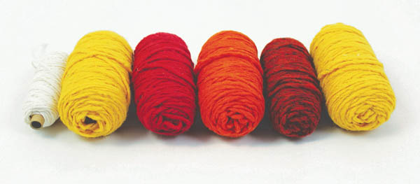 Designer Refill Kits for PegLoom & LaPlooms - Sunset (Red/Orange/Yellow Colors)