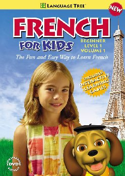 French for Kids Beginner Level 1 Volume 1 DVD