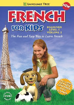 French for Kids Beginner Level 1 Volume 2 DVD