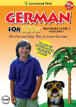 German for Kids Beginner Level 1 Volume 1 DVD