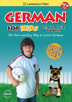 German for Kids Beginner Level 1 Volume 2 DVD