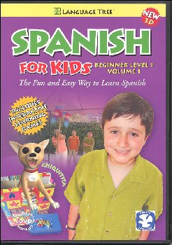 Spanish for Kids Beginner Level 1 Volume 1 DVD