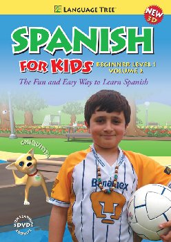 Spanish for Kids Beginner Level 1 Volume 2 DVD