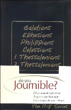 Galatians, Ephesians, Philippians, Colossians, 1 & 2 Thessalonians Journible: The 17:18 Series