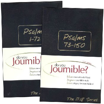 Psalms Journible: The 17:18 Series, 2 Volume Set