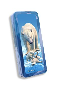 Polar Bears 3D Pencil Tin