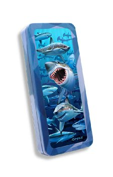 Sharks 3D Pencil Tin