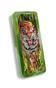 Tiger Trouble 3D Pencil Tin